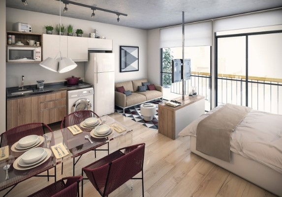 cool apartment minimalist design