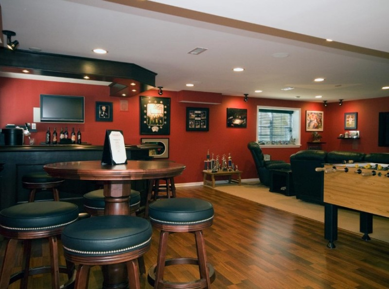 40+ Awesome Basement Design Ideas