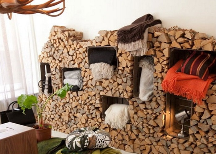 10 Best DIY Indoor Firewood Rack and Storage Ideas for 2018