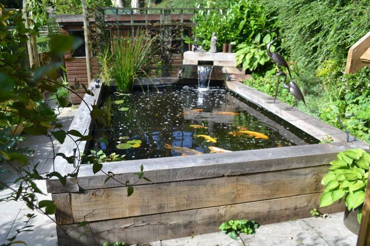 31 minimalist fish pond design ideas for 2018 how to for Outdoor fish ponds designs