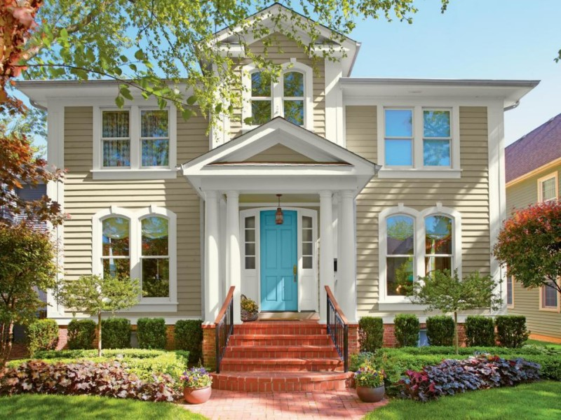 60 Best Exterior Home Paint Color Ideas for 2018