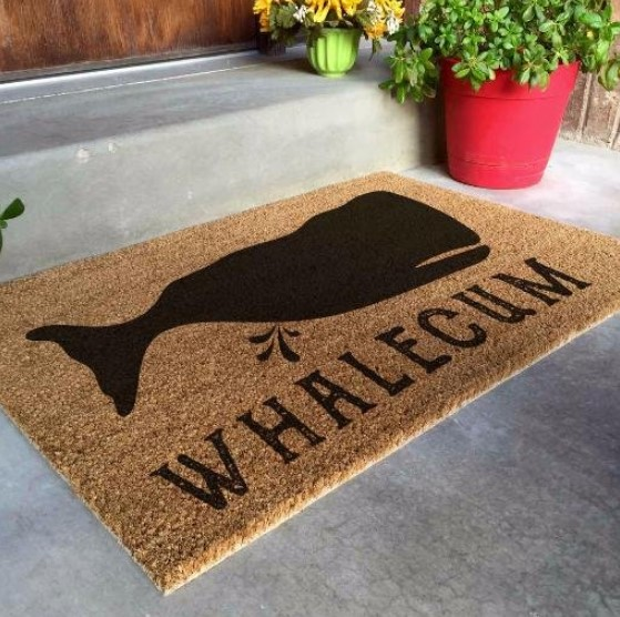 25 Geo Whale Doormat Design Ideas