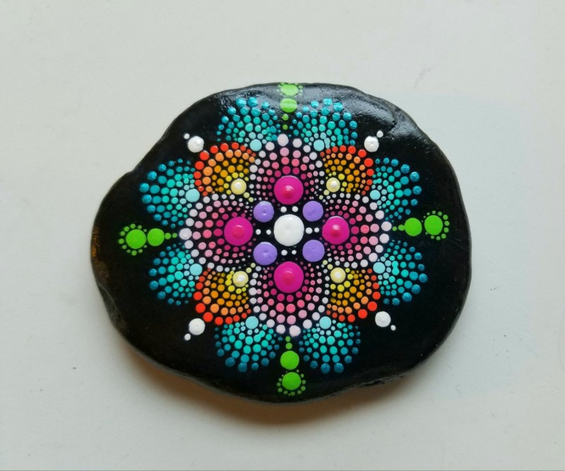 50 Mandala Rock Painting | How to Make It