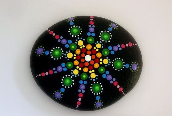 DIY Mandala Rock Painting | How to Make It