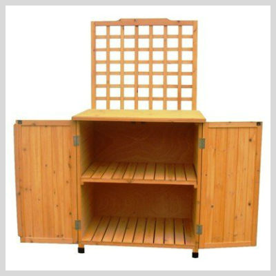 Garden Storage Options That Will Serve Other Purposes As Well!