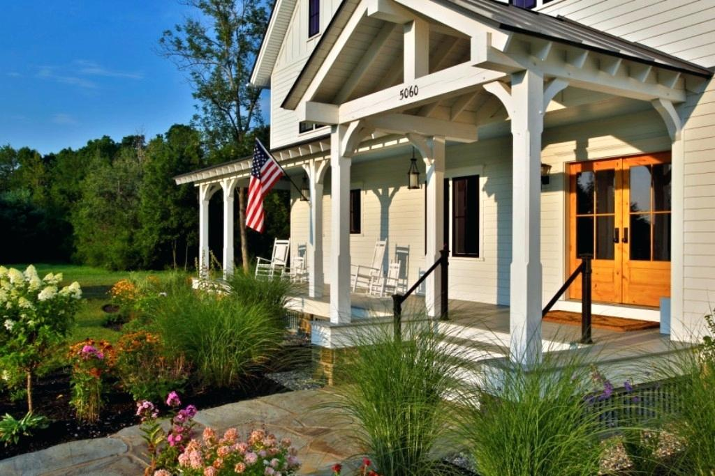 front porch designs farmhouse front porch designs front porch ideas for two story houses - 12+ Balcony Modern Front Design Of Small House Pictures
