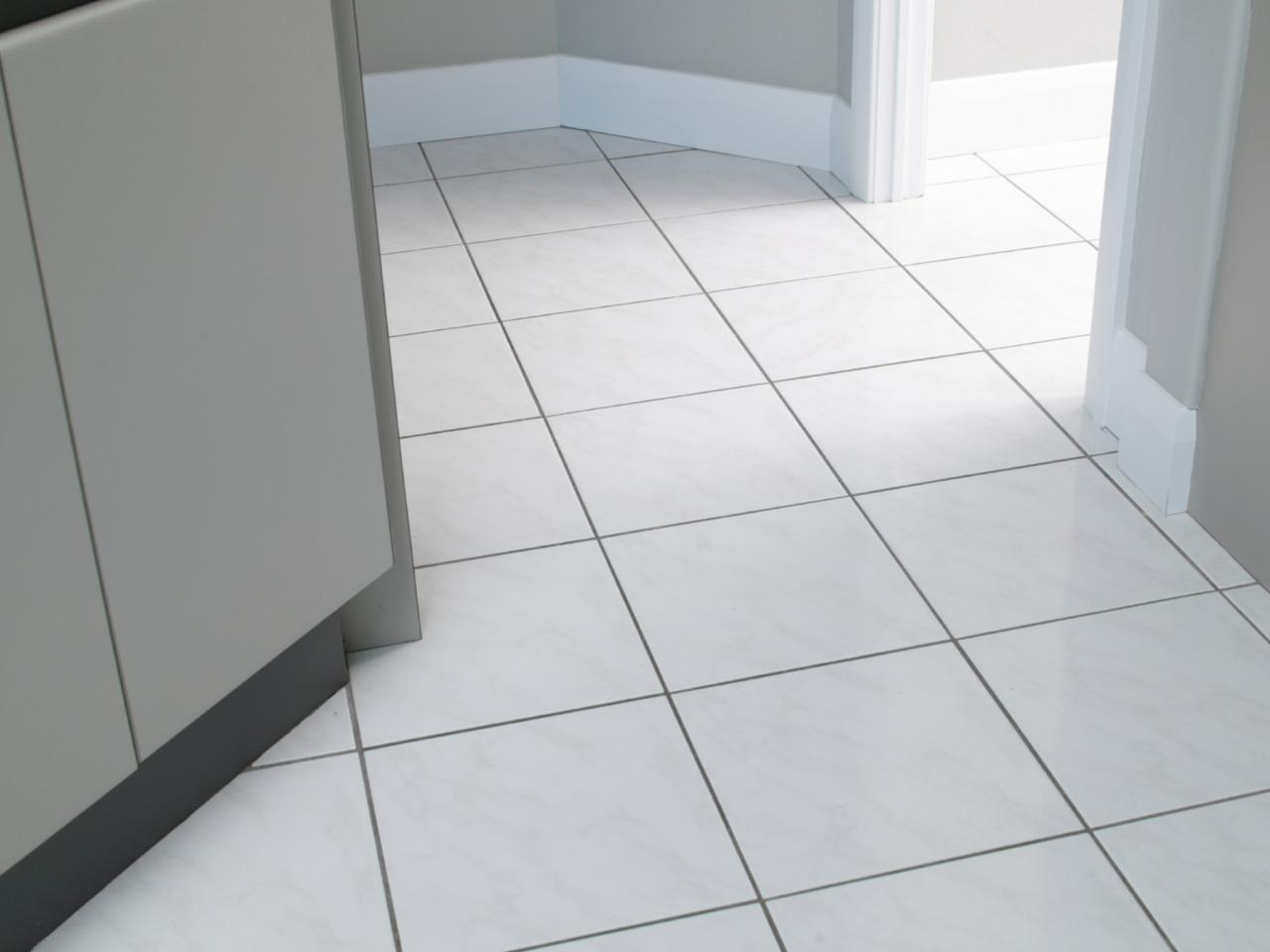 Ceramic tiles for bathroom floor