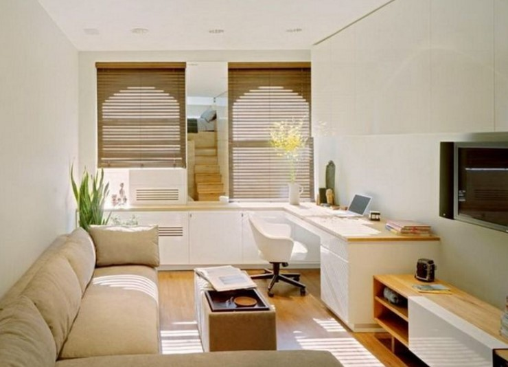 Home Interior Design Ideas for Minimalist Space Narrow