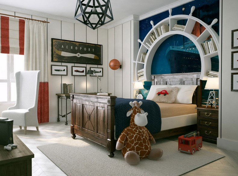 Cool Boys Bedroom Design Ideas