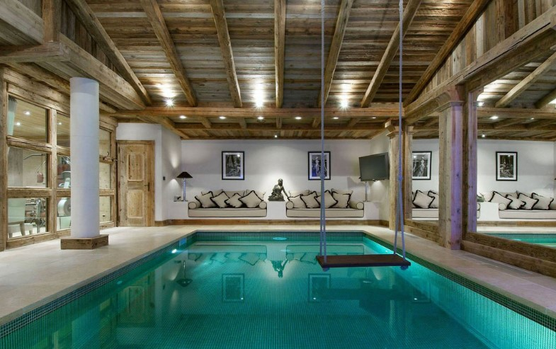 Beautiful Indoor Swimming Pool Design Ideas