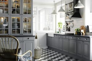 Stunning Ideas of Grey Kitchen Cabinets
