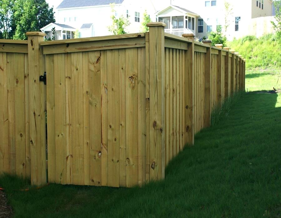 50+ Awesome Wood Fence Designs And Ideas Images