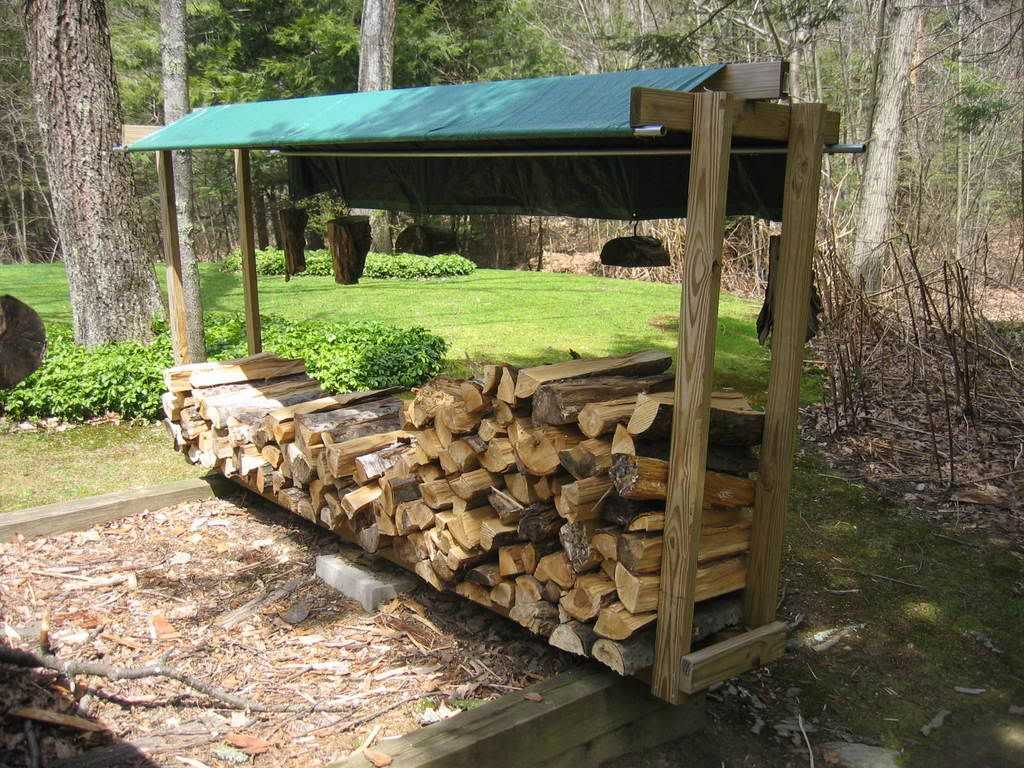 14+ Best DIY Outdoor Firewood Rack and Storage Ideas Images