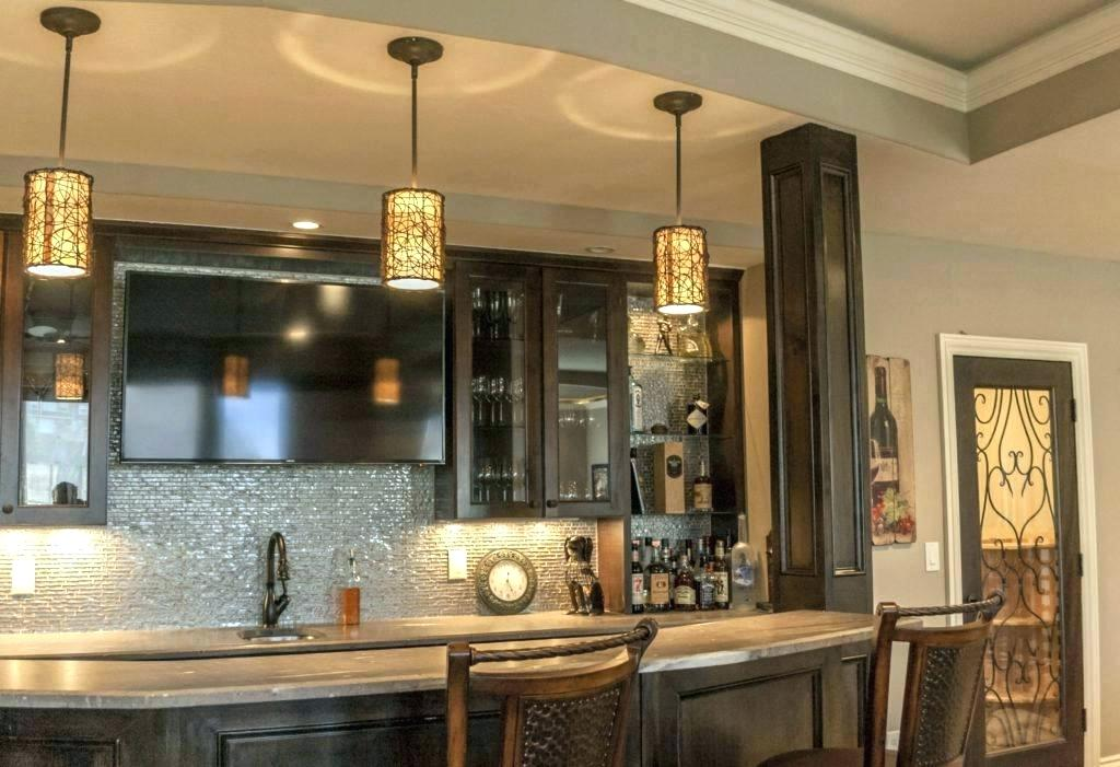 7 awesome basement design ideas for your inspiration - Small home bar ideas ...