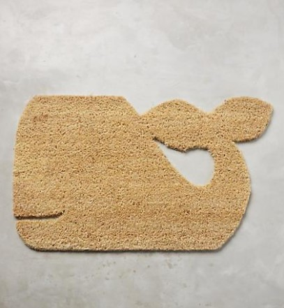Geo Whale Doormat Design Ideas