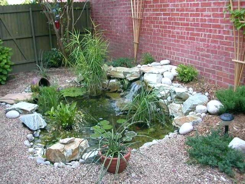 40 Minimalist Fish Pond Design Ideas for 2019 | How to ... on Small Pond Landscaping Ideas id=88137
