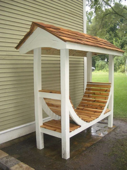 Best DIY Outdoor Firewood Rack Ideas