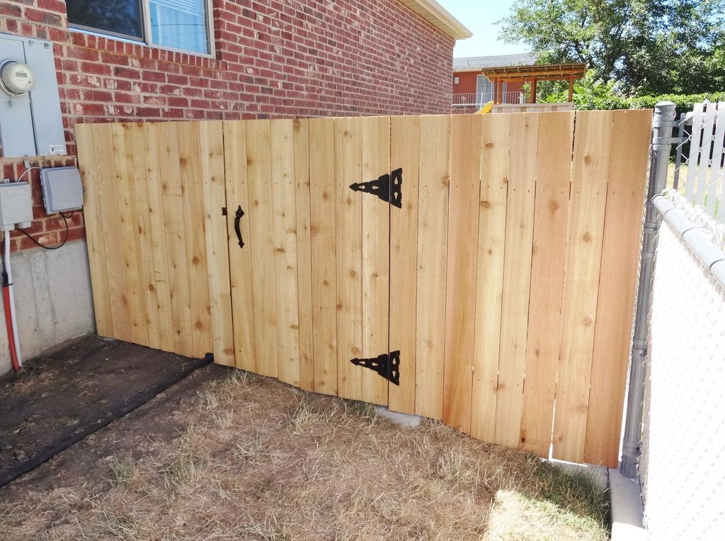 Wood Fence Gate Pictures
