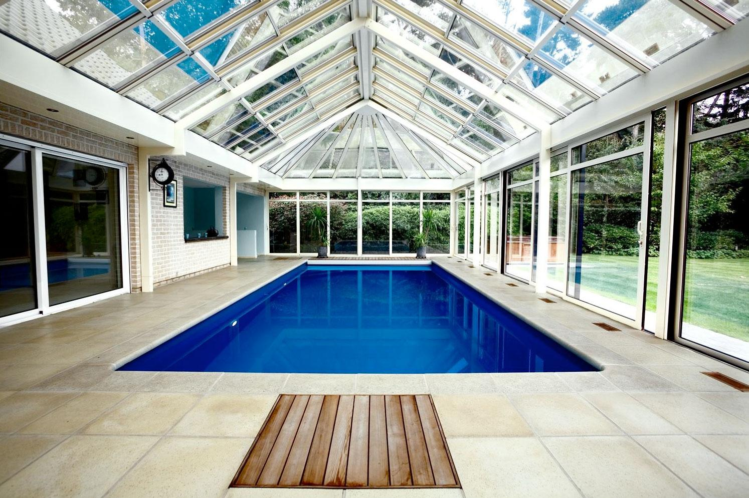 50 Beautiful Indoor Swimming Pool Design Ideas for Your Home