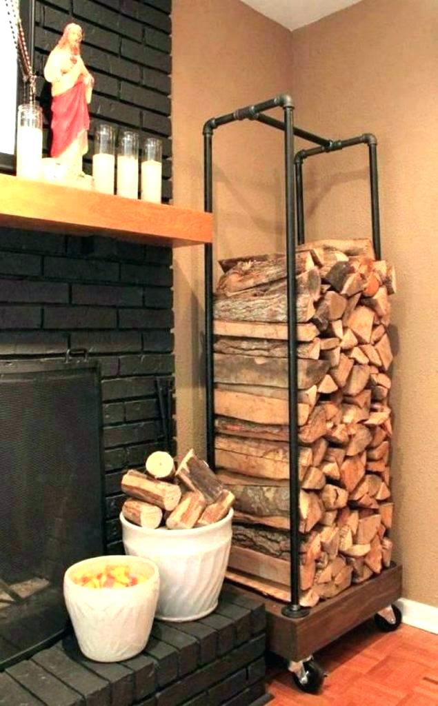 Wood Storage Ideas Firewood Rack