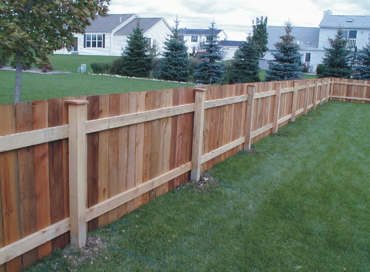 Wood Fences For Modern and Minimalist Housing