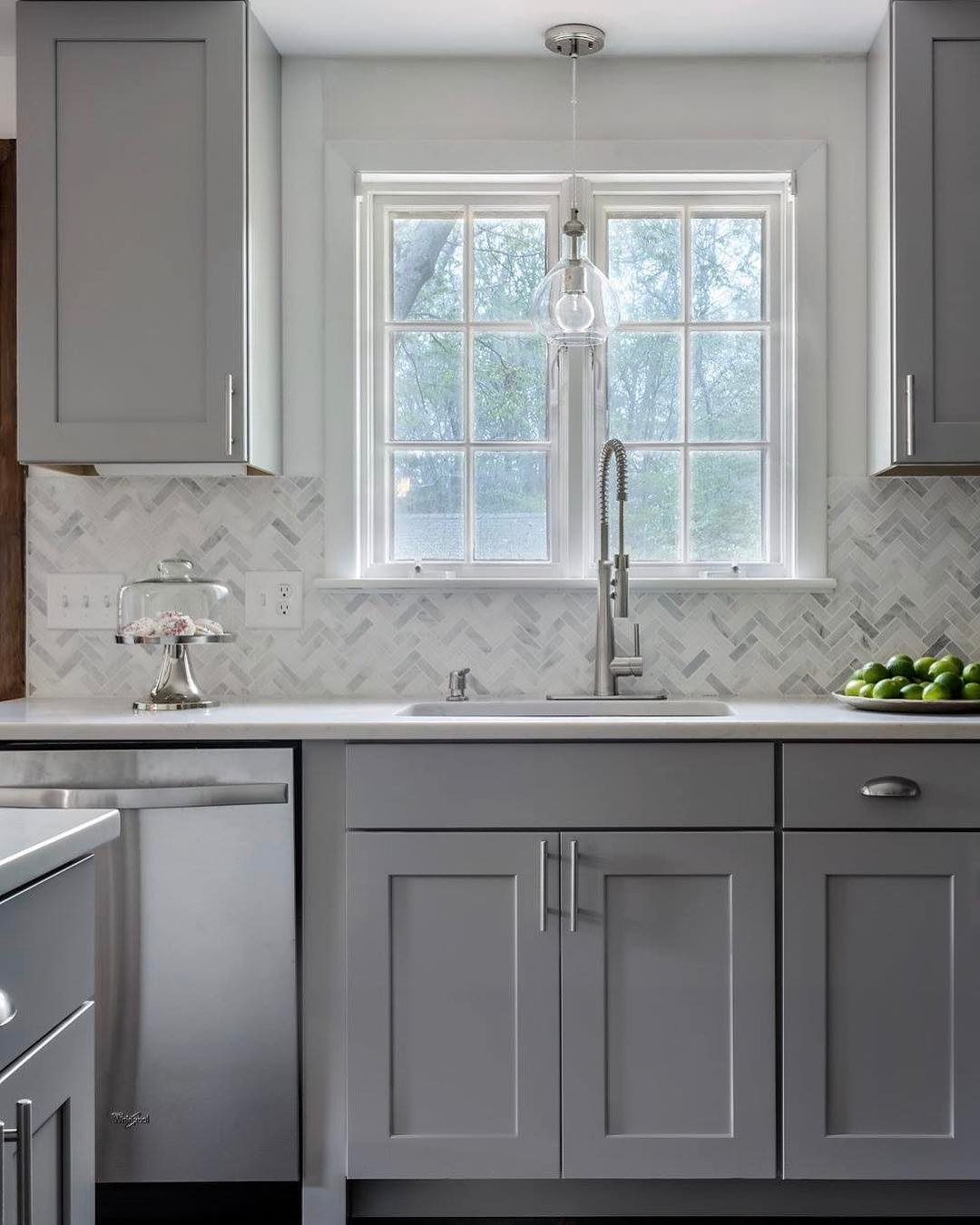 Gray And White Kitchen Cabinets: 18+ Stunning Ideas Of Grey Kitchen Cabinets