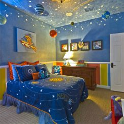 Incredible Space Themed Bedroom Ideas