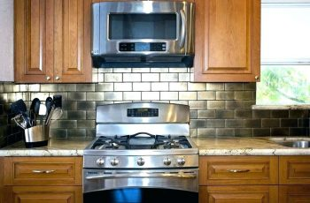 Stunning Design of Stainless Steel Kitchen Backsplash Ideas