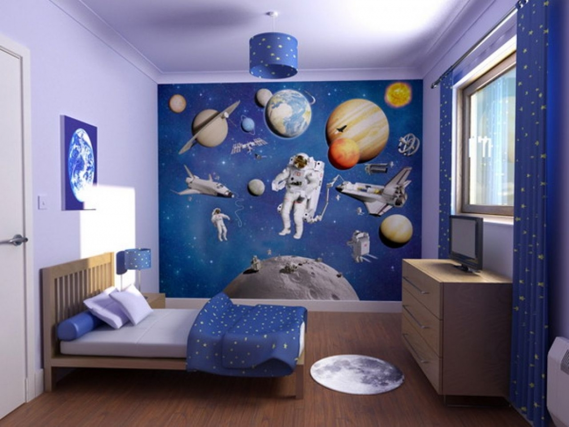 √ 10+ Incredible Space Themed Bedroom Ideas