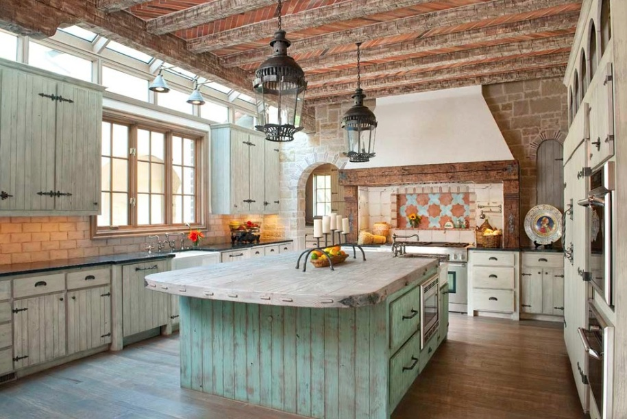 15+ Stunning Rustic Kitchen Design