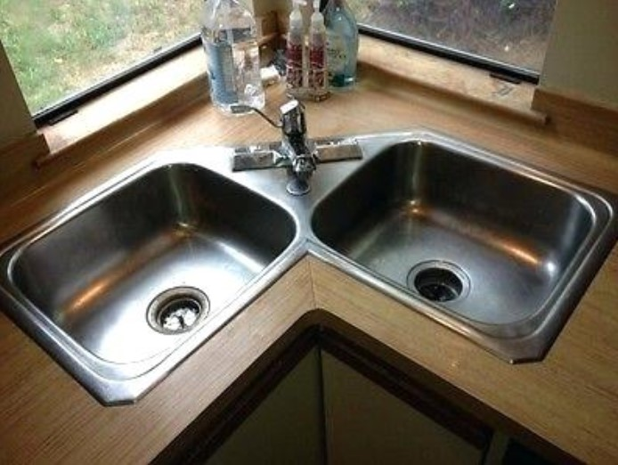 15 Corner Kitchen Sink Ideas for Your Lovely Kitchen