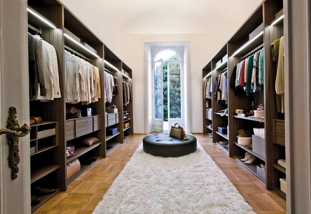 separation shoes b02b4 38cc9 10 Best Walk in Closet Ideas and Design