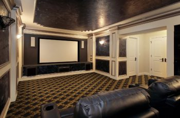 How to Build Your Own Basement Home Theater