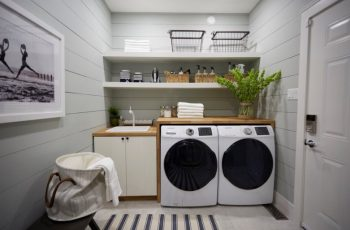 12 Minimalist Laundry Room Design and Ideas