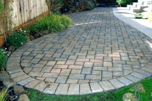 Make the backyard simple, beautiful, and expand your living room outside the house with a patio paver. You can install paving stones by yourself. The terrace can be made with many ingredients, but it is hard to beat which is made of pavers for easy installation and low maintenance.